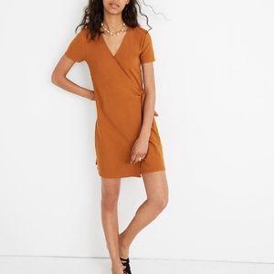 Madewell Texture & Thread Side Tie Dress
